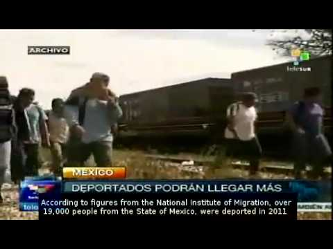 Mexico to protect nationals deported from US