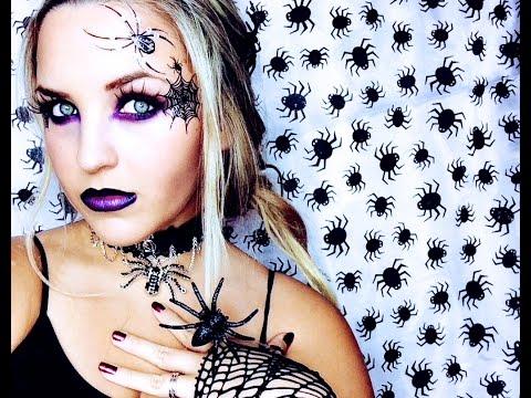 Spider Witch Halloween Look