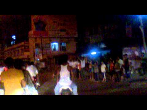 india-pak world cup match winning celebration in Kolhapur(Nad...