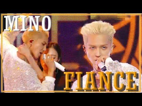 [Solo Debut] MINO - FIANCE,  송민호 - 아낙네 Show Music Core 20181201