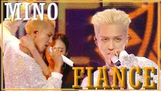 Solo Debut Mino Fiance 송민호 아낙네 Show Music Core 20181201