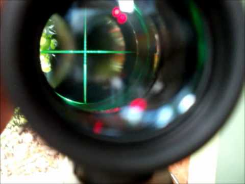 Rifle BAM 19 5.5 650 FPS con mira Cannon 3 x 9 x 40 Combo OFERTA!!