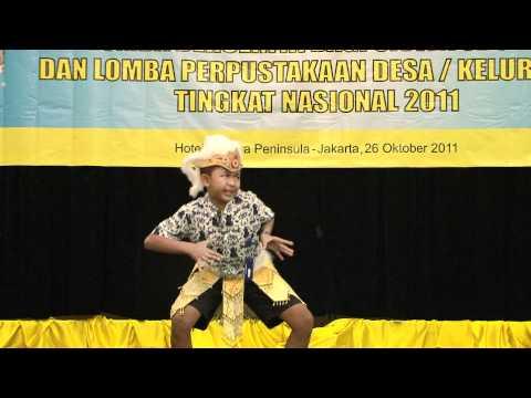 Juara I Lomba Bercerita Tingkat Nasional bagi Siswa SD/MI tahun 2011