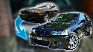 BMW E46 transformation  (1 Year Progress)