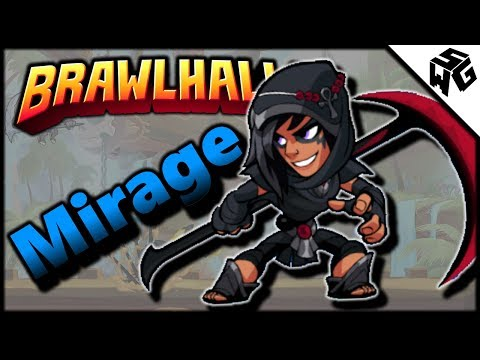 Road to Diamond S7 ~ Ranked Mirage 1v1's - Brawlhalla Gameplay :: Will I Learn?