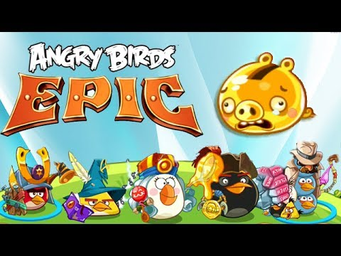 Angry Birds Epic - Golden Pig : The Fastest Way to Make Gold Coins - HD Gameplay&Walkthrough