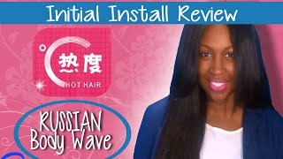 My New Russian Hair!! | Aliexpress Initial Install Review!