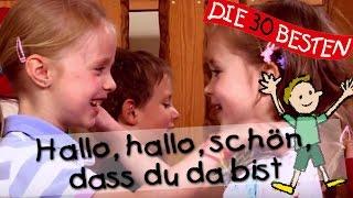 Hallo, hallo schön, dass du da bist - Singen, Tanzen und Bewegen || Kinderlieder