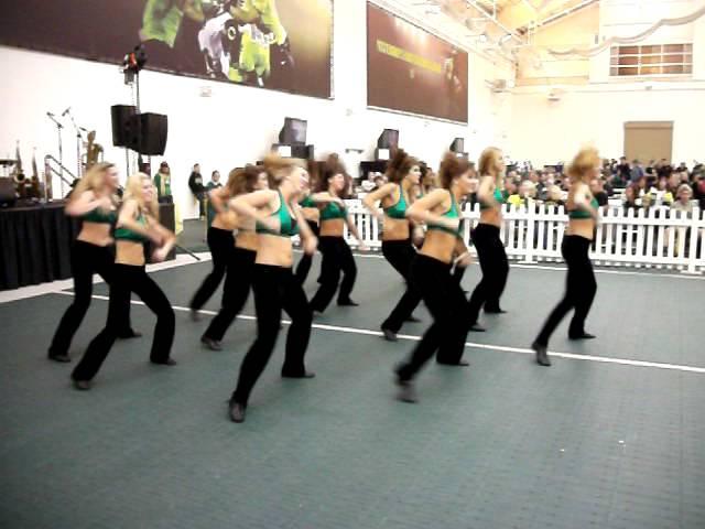 Oregon Dance Team 10/15/2011