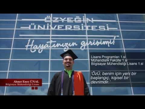 Özyeğin Üniversitesi 2015 Program Birincileri
