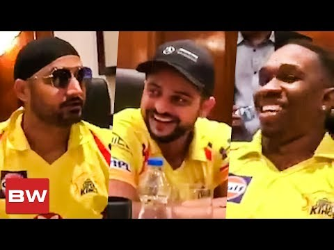 Harbhajan, Raina & Bravo வின்  சேட்டைகள்  | CSK | IPL 2018