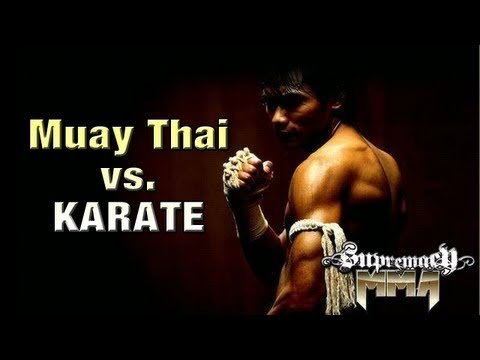 Karate Kickboxing Champion vs. Angry Muay Thai Champion | Lawrence Kenshin