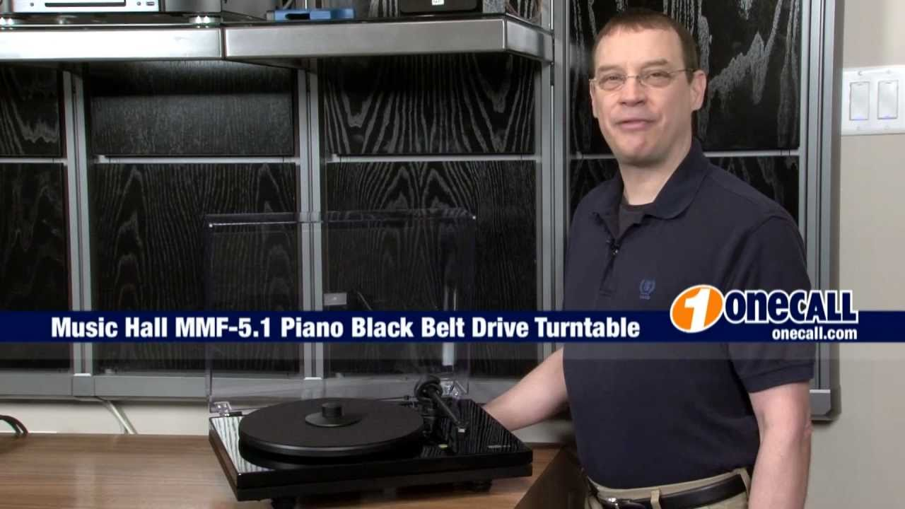 closer look music hall mmf 5 1 turntable youtube. Black Bedroom Furniture Sets. Home Design Ideas