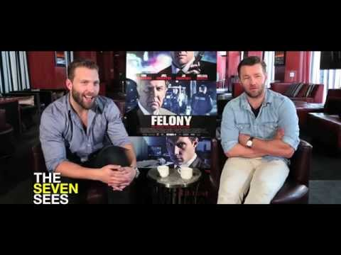 Joel Edgerton and Jai Courtney Play 'Celebrity Felony: True or False'