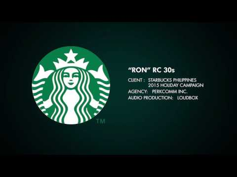 "Starbucks Philippines ""Ron"" radio commercial 30s"