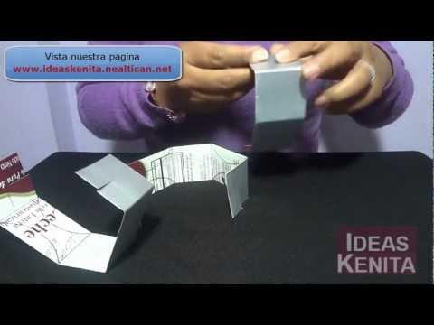 Esfera elegante reciclando cartón tetrapak (1 de 2)