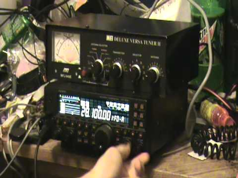 MFJ Antenna Tuner demo and question