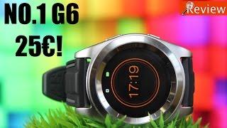 No 1 G6: el mejor smartwatch por solo 25€!!!