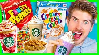 STARBUCKS SECRET MENU! - CEREAL FLAVORS
