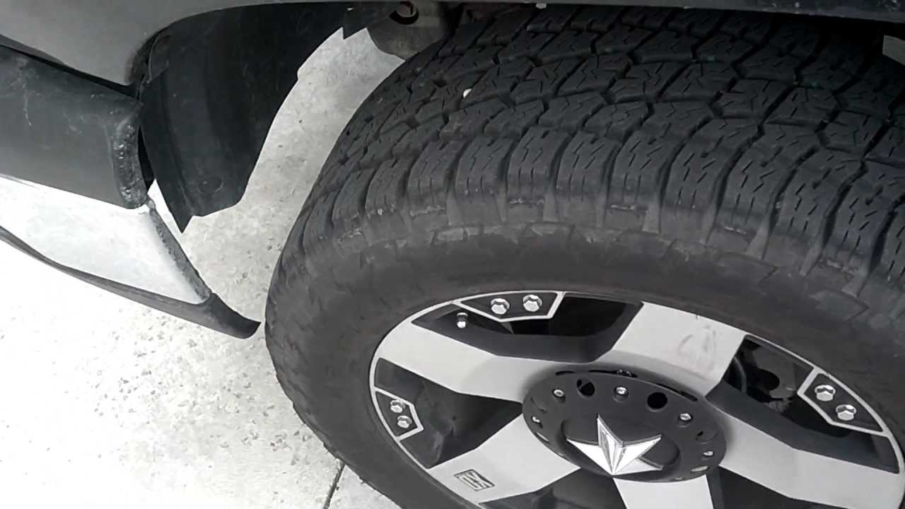 33 inch tires and leveling kit 2004 silverado - YouTube