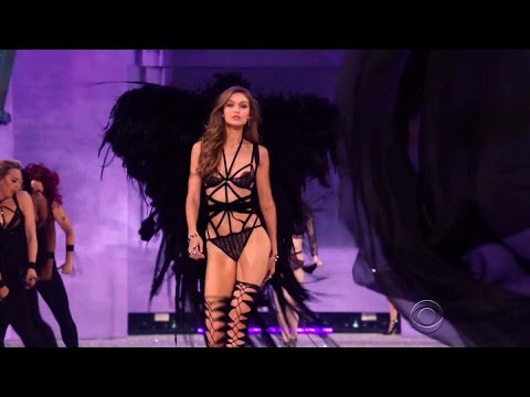 Gigi Hadid Victoria's Secret Runway Walk Compilation 2015-2016 HD