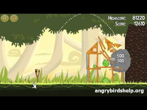 Angry Birds Level 6-2 - 3 Star Walkthrough