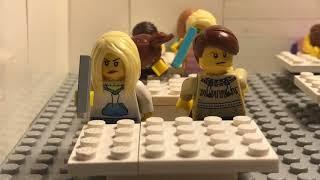 Lego zombie school