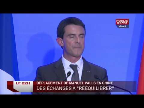 Manuel Valls en Chine - Les enjeux de cette visite