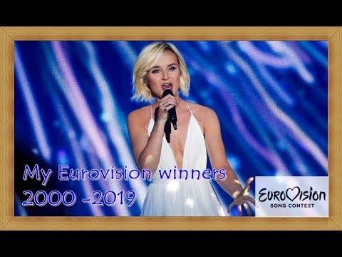 My Eurovision Winners (2000-2019)