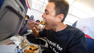 Sichuan Airlines FOOD REVIEW - Flying from Chengdu to Lhasa, Tibet!