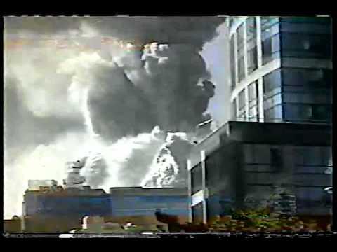 9/11 Rare Good Day LA FOX11 News Coverage North Tower