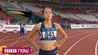 Điền kinh nữ ASIAD 2018: Lê Tú Chinh dừng bước tại Bán kết 100m nữ | VTC Now