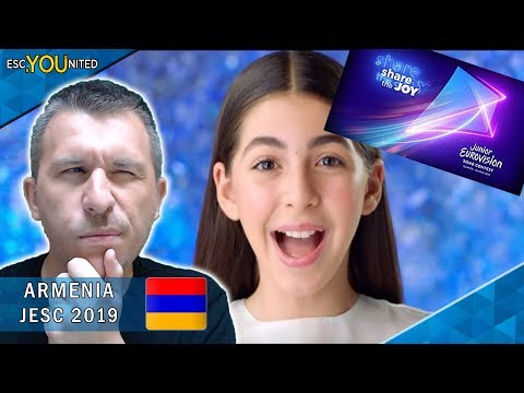 ARMENIA: Karina Ignatyan - Colours of Your Dream | Junior Eurovision 2019 - REACTION