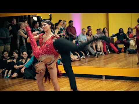 Luis Alberto & Jess Sheppard - Salsa Performance at Dancing4Fun - Maní Picao - Ricky Campanelli