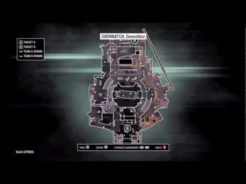 MW3 February DLC: Overwatch! | Map Layout + Clips!