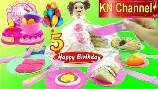 BÉ NA NẤU ĂN ĐỂ CẢM ƠN CÁC BẠN THÀNH VIÊN   KN Channel tiệc sinh nhật tháng 5