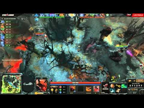 Cloud9 vs Tinker (Starladder X LAN - Groups)