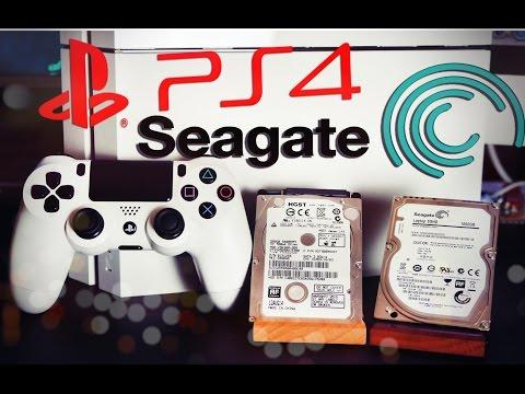 PS4 Замена жесткого диска на Гибридный Seagate SSHD 1TB