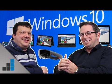 Windows 10 gratis, HoloLens & mehr - Erfindet Microsoft den PC neu? - Tech-up | deutsch / german