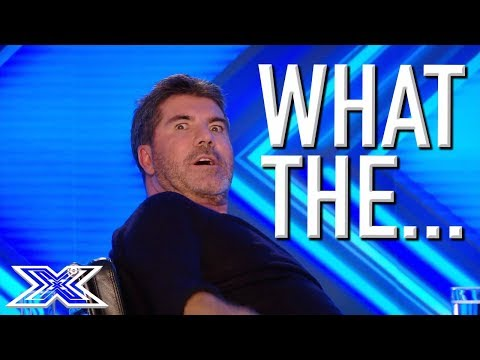 MOST AWKWARD and CRINGEWORTHY Auditions from The X Factor UK and USA   X Factor Global
