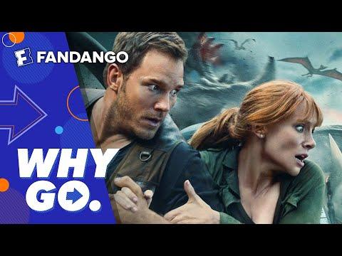 Why Go.   Jurassic World: Fallen Kingdom
