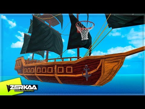 BASKETBALL ON A PIRATE SHIP! (Golf with Your Friends)