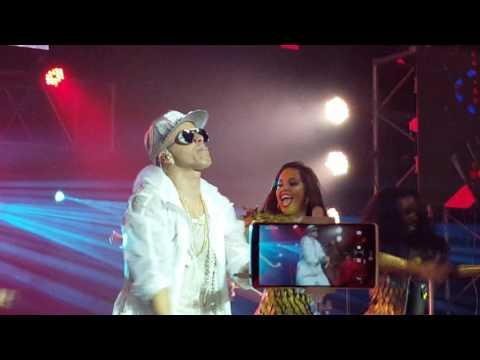 NO SALES DE MI MENTE  Yandel Luna Park 8616 Dangerous Tour