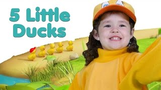 5 Little Ducks | Nursery Rhymes | Songs for Kids