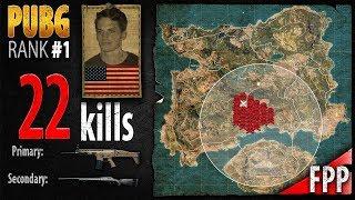 PUBG Rank 1 - Captain_LobesTV 22 kills [NA] DUO FPP - PLAYERUNKNOWN'S BATTLEGROUNDS