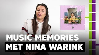 Nina Warink: 'Dit nummer is echt CHICKS before DICKS' | Music Memories #11