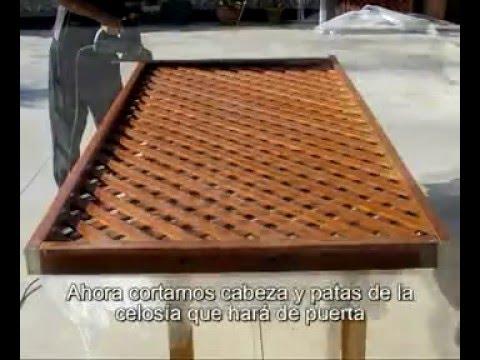 Celosias de madera mexico