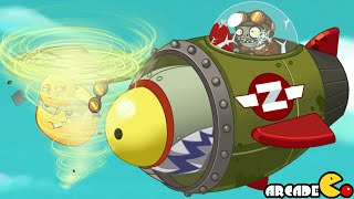 Plants Vs Zombies 2: Sky Castle World ROCKET Zombies! (PVZ 2 China)