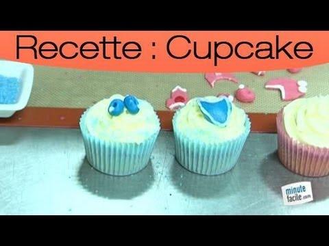 faire des cupcakes pour un baby shower