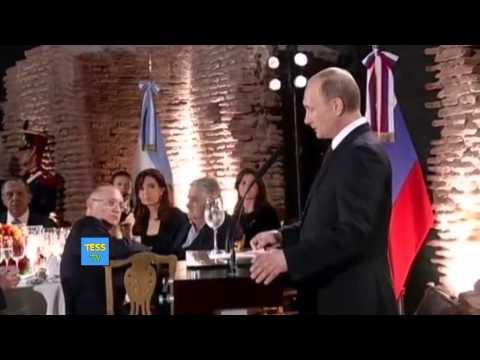 Путин обедает с Кристиной Киршнер в Аргентине! Новости сегодня! Смотреть всем!